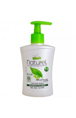 WINNI'S NATUREL Sapone Mani Thé Verde - hypoallergenic liquid hand soap with green tea and aloe vera 250 ml