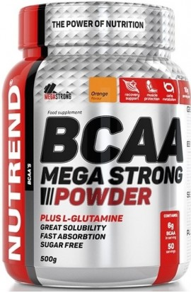 NUTREND, BCAA MEGA STRONG POWDER, 500 g