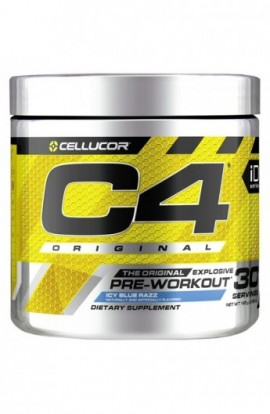 Cellucor C4 Original Pre Workout Powder Energy Drink w/Creatine, Nitric Oxide & Beta Alanine, ICY Blue...
