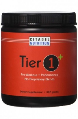 Citadel Nutrition Tier 1 Plus Preworkout / Performance Supplement (387g)