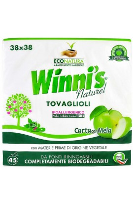 WINNI'S NATUREL - ecological paper napkins 45 pcs