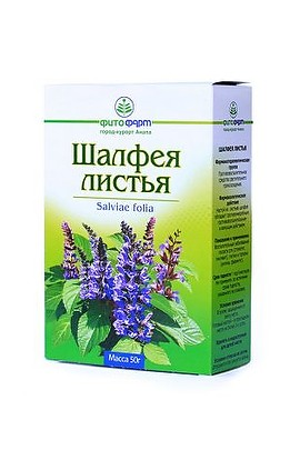 Phytopharm leaves of Sage 50 g.