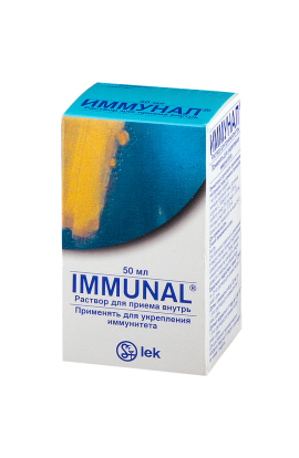Lek Immunal f. 50ml with a pipette