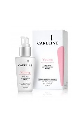 CARELINE  Young Hydrating Cream-Gel - SPF 15 50ml