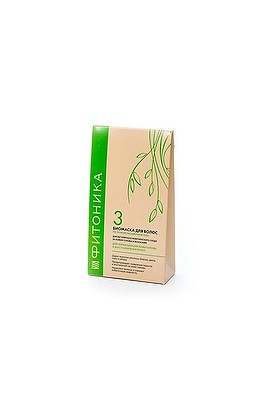 "Biobeauty Biomass for hair Phytonics №3 ""Normalization and hair restoration"" 150gr"
