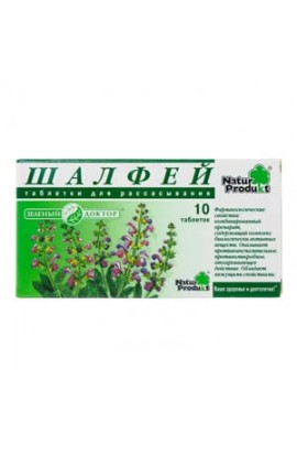 """Natur Product Sage """"Green Doctor"""" 10 tablets"""
