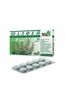 "Natur Product Sage ""Green Doctor"" 20 tablets"