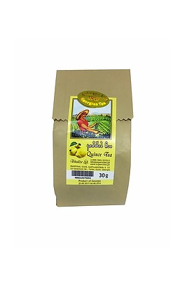 Georgian mountain tea made of quince in paper packing 30 g