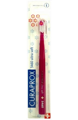 Ultra soft toothbrush (red-white) CS Ultra Soft 5460 Flower edition 1pc Curaprox