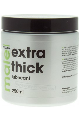 Cobeco Pharma MALE Extra Thick lubricant 250ml