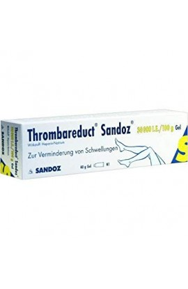 HEXAL, THROMBAREDUCT Sandoz 30.000 I.E. Gel, 40 g