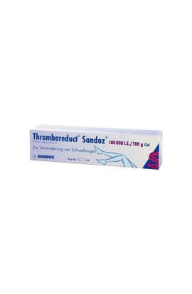 HEXAL,Thrombareduct Sandoz 180 000 I.E. Gel, 40 g