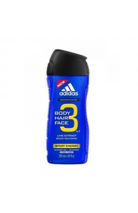 ADIDAS 3in1 Sport Energy Shower Gel 400ml