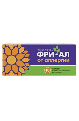 Alsi Pharma Free-Al tablets coated.plen.ob. 5 mg, 10 pcs.