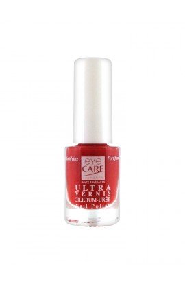 Eye Care Nail Polish Ultra Silicon Urea 4.7 ml - Color: 1508: Dark Red