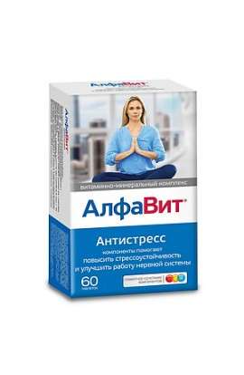 Vneshtorg Pharma Alphabet Antistress Tablets, 60 pcs.