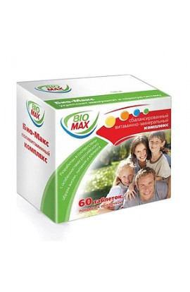 Valenta Farma Bio-Max, tablets, 60 pcs.