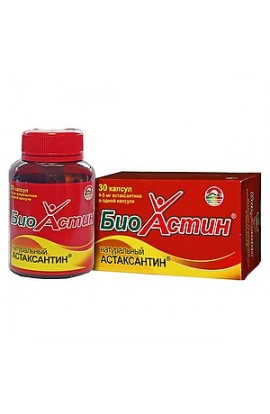 Source of Longevity Bio Astin Astaxanthin, capsules, 30 pcs.