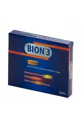 Merck KGaA Bion 3, tablets, 10 pcs.