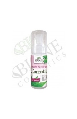 Bione cosmetics bio Intimate cannabis foam 150 ml