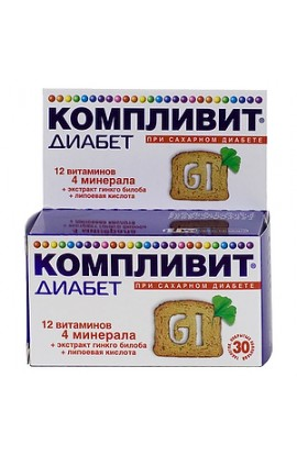 Pharmstandard-Ufavita Complymitis Diabetes, tablets, 30 pcs.
