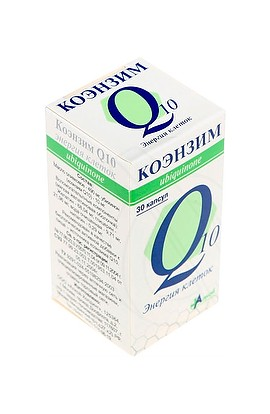 Alcoi Co. Coenzyme Q10 Energy cells, capsules 500 mg, 30 pcs.
