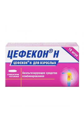 Nizhfarm Cefekon N, rectal suppositories for adults 10 pcs.