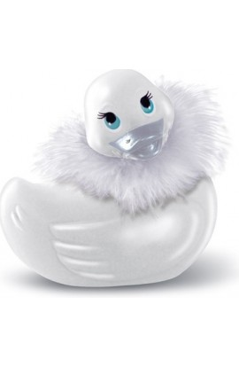 Big Teaze Toys Vibrating Duck - Paris White small