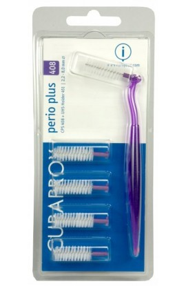 interdental brush 2,2mm + dark purple holder CPS 408 perio plus 5pcs Curaprox