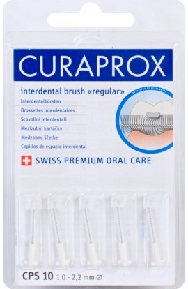 Dental brushes 1-2,2mm CPS 10 regular refill 5pcs Curaprox