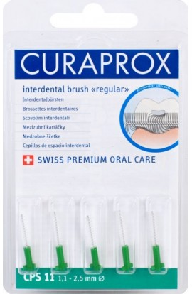 Dental brushes 1,1-2,5мм CPS 11 regular refill 5шт Curaprox