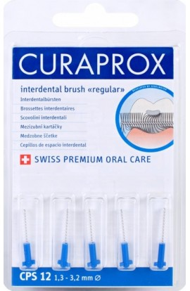 Dental brushes 1,3-3,2мм CPS 12 regular refill 5шт Curaprox
