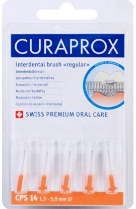 Dental brushes 1,5-5мм CPS 14 regular refill 5шт Curaprox