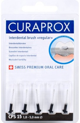 Dental brushes 1,8-5мм CPS 15 regular refill 5шт Curaprox