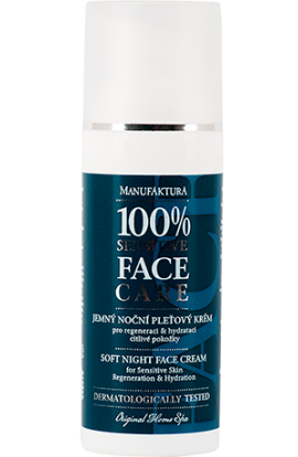 Manufaktura Gentle night cream for the regeneration & hydration of sensitive skin 50 ml