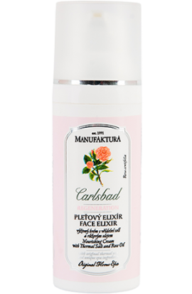 Manufaktura Skin elixir - a nutritious cream with spring salt and rose oil  50 ml