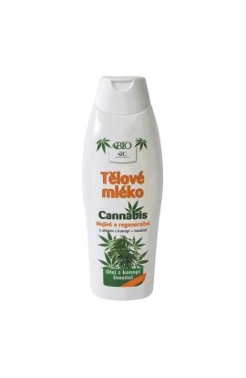 BC Bione Cosmetics Cannabis Body Lotion 500 ml