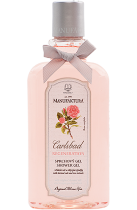 Manufaktura Refreshing shower gel with spring salt and pink extracts  300 ml