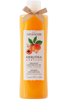Manufaktura Shower & bath gel with extracts of apricots and olives  215 ml