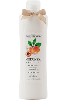 Manufaktura  Hydration body lotion with apricot and almond oil and glycerine 215 ml