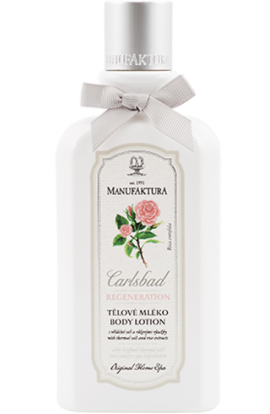 Manufaktura Body lotion with spring salt, pink extracts and almond oil  300 ml