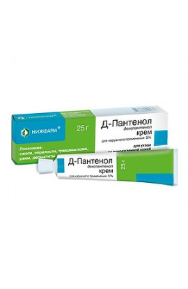 Nizhfarm D-Panthenol cream for external use 5%, 50 g