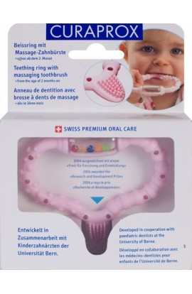 STIMULATOR FOR CUTTING TEMPORAL TEETH (pink) Curaprox