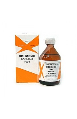 Chemical Vinilin (Shostakovskiy balm), liquid for external use, 100 g