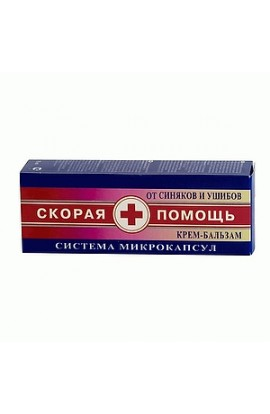 KorolevParm Ambulance, Cream-balm against bruises and bruises, 75 ml