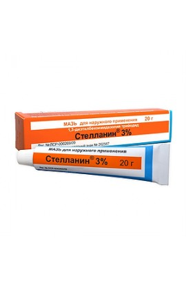 Pharmaceutical Stellanin, ointment 3%, 20 g