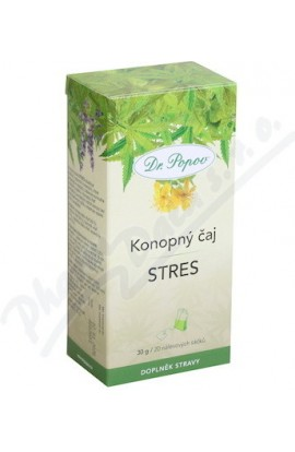 Dr.Popov Tea Hemp Stress 20 x 1.5 g