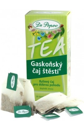Dr. Popov Gaskon tea of luck 20 x 1.5 g