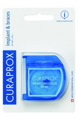 Dental floss for implants and braces DF 845 50m Curaprox
