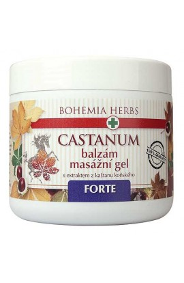 BOHEMIA HERBS - BALM - HORSE CHESTNUT 600 ML - MASSAGE GEL - FORTE